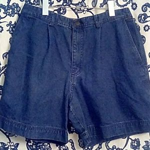 VTG Kahala Fiji Denim Shorts 36